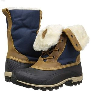 Kamik Harper women's Snow Boot navy size 8